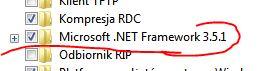 Uruchom NET Framework